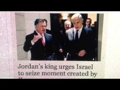 PROPHECY ALERT: Jordan's King Meets With Netanyahu