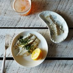 Check out this Vintage Fishbone Dish from Provisions' Summer Seafood Collection: https://food52.com/provisions/products/1278-vintage-fishbone-dish #Food52