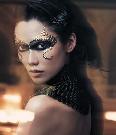 Tao Okamoto by Lachlan Bailey in Vogue China December 2012