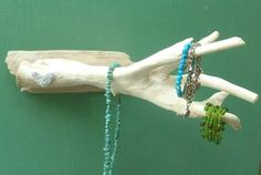 Jewelry Display Driftwood Sculpture  Jewelry by DivineDriftwood, $48.90