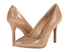 Beautiful glossy brown heels.