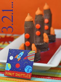 3.2.1... Blast off with these space shuttle cakes