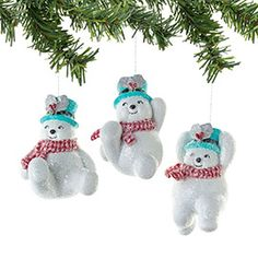 "Department 56: Products - ""Tumbling Snowmen Ornament, 3a"" - 56 Christmas™"