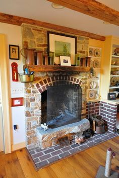 Mixing Brick And Stone On Pinterest Traditional Family