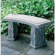 Curved Dragonfly Garden Bench. $412.00