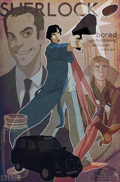 Sherlock series one poster