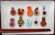 handmade textille beads. www.kjoo.etsy.com