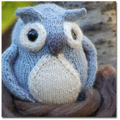 Bramble Owl Softie by Sonya Philip; pattern $5.50 on Ravelry