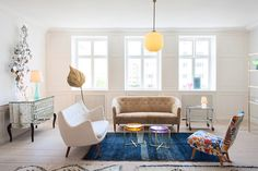 Piezas únicas   Galería de fotos 8 de 20   AD living rooms, small space, live room, eclect interior