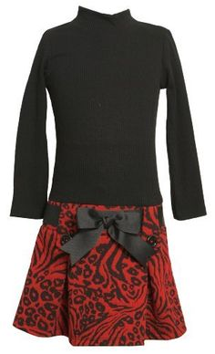 Bonnie Jean Girls 7-16 Knit Bodice To Drop Waist Skirt, Red, 7 Bonnie Jean, http://www.amazon.com/dp/B0089W3YS6/ref=cm_sw_r_pi_dp_YXqpqb0NPWRW3