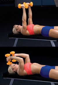 Banish arm jiggle with this triceps-toning move from expert trainer Kim Oddo