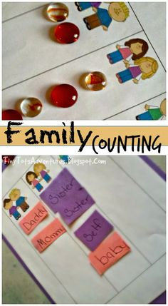 Tiny Tots Adventures: Family Counting