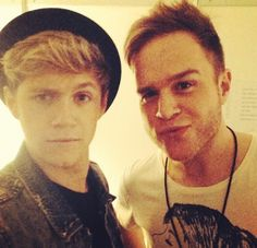 Niall and Olly! (: