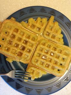 These are So yummy that I want to go make some right now!  I had many sticky waffles during the learning process - but it was worth it in the end. :)  They are a bit chewier than grain waffles (som...