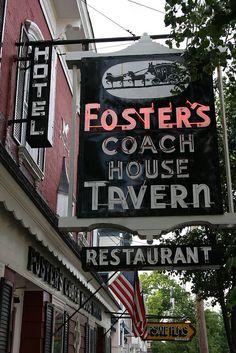 Foster's Coach House Tavern.....Rhinebeck NY