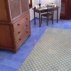 Avente Tile Project: Moroccan Inspired Cement Tile Floor