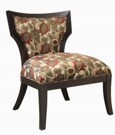 A beautiful accent chair