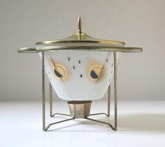 Mid Century Modern Fire King Chafing Dish by TheVintageResource, $36.00