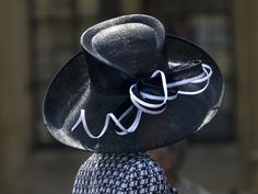 B/W Hat : Photo by Linda_Davidson #Hat #Linda_Davidson