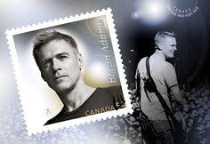 concerts, musicians, postag stamp, bones, book, canadian postag, artist, stamps, bryan adams