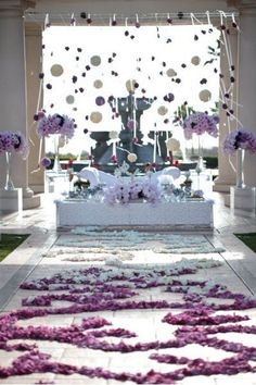 Wedding at St Regis. the floral arrangements are wonderful!