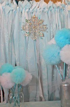 Frozen Inspired Winter Wonderland Party  PRETTI by prettimini, $260.00