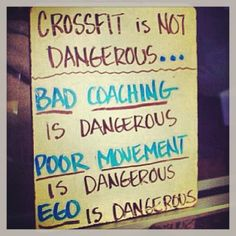 CrossFit is not dangerous.