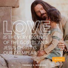 #Love is the essence of the Gospel. #PresMonson #ldsconf