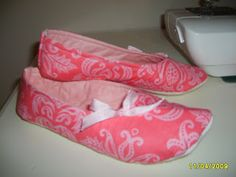 ~ Shabby Raggy Roses ~: TUTORIAL ~ Make your own Ballet Slippers