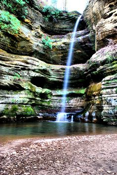 starved rock state park, illinois.
