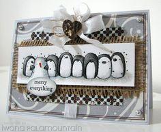 penny black penguins
