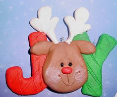 Joy with Sculpy clay