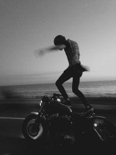 Sportster surfin' #motorcycle #motorbike