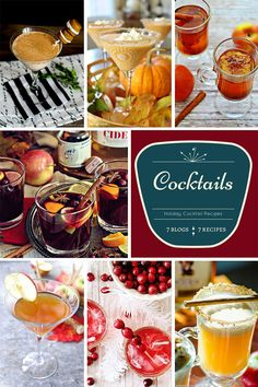 7 Cocktail Recipes f