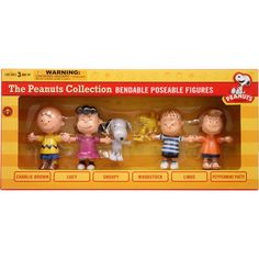 figur set, accessori, charli brown, box, peanuts gang, bendabl figur, peanut bendabl, njcroce charli, charlie brown