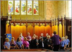 the marchington singers choir.