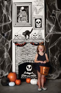 Printable Halloween Draw Together Set from Caravan Shoppe