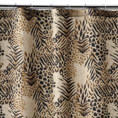 $24.99  Safari Shower Curtain - Brown/Tan