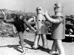 vintag, robots, scifi, random, space