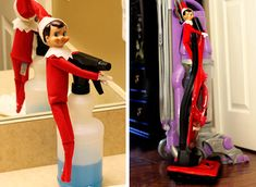 elf on a shelf, no-mischief ideas