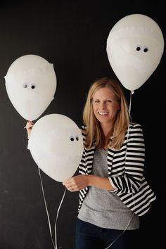 Halloween Mummy Balloons!    Design Improvised blog