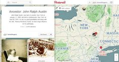 Creating an Ancestor Timeline on Pinterest.