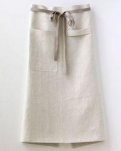 linen cafe apron