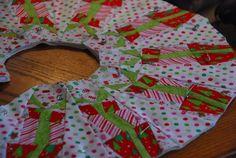 Riley Blake Designs -- Cutting Corners: Christmas Candy Tree Skirt