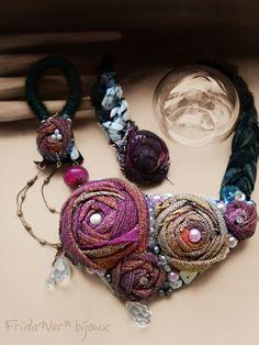 Collana Baroque Roses - fabric