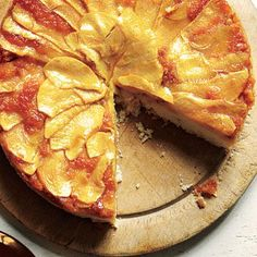 Apple Upside-Down Cake | CookingLight.com