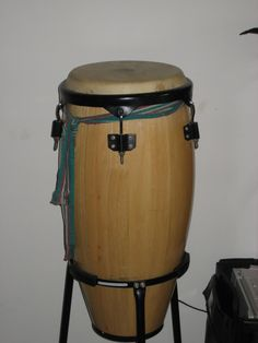 Pam's second-hand drum.