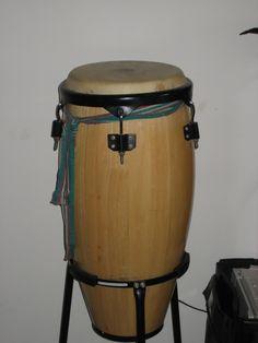 Pam's second-hand drum.