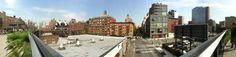 Espectacular foto panorámica de Chelsea desde el High Line Park por @lpardellas Aquí más info del HLP: http://www.newyorkando.com/la-segunda-seccion-del-parque-high-line-abre-sus-espacios-al-publico