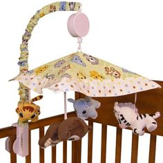 Trend Lab Chibi Crib Mobile - Pinned for BabyBump, the #1 mobile pregnancy tracker with the built-in community for support and sharing. #nursery